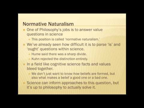 Naturalism in the Philosophy of Science (2 of 3)