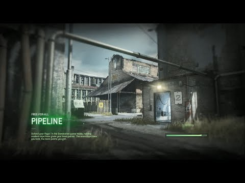 Call Of Duty: Modern Warfare Remastered - FFA vs Veteran Bots on Pipeline
