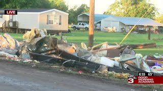 Daylight reveals extent of damage done during Sunday storms