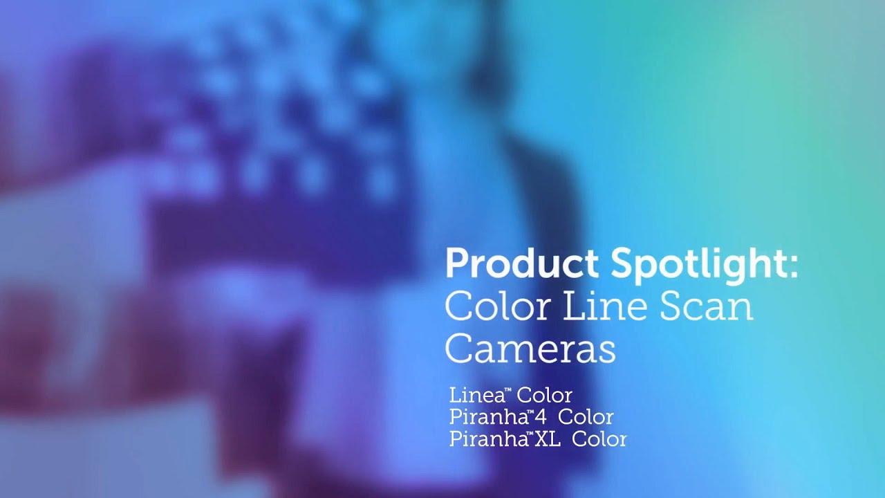 Color Line Scan Imaging | Teledyne DALSA