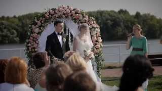 Самая красивая и романтичная свадьба в мире! Владимир и Юлианна. Москва.