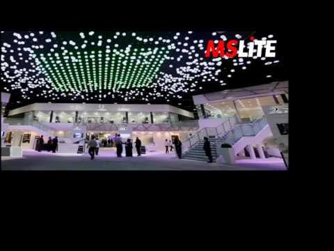 LED dancing ball in Dubai