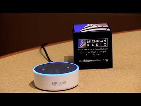 How To Listen To Michigan Radio On Your Smart Speaker | Alexa