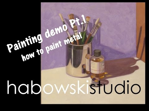 Painting demo Pt. 1 - how to paint metal