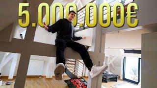 Meine NEUE 5.000.000€ Wohnung mit 18 JAHREN?!