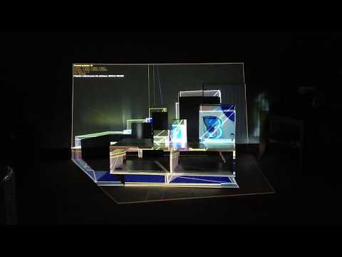 Projection Mapping Automatic Camera Calibration Test