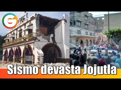 Sismo devasta Jojutla, Morelos  #SismoMx #FuerzaMéxico