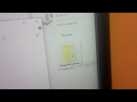 How To Burn Audio Cd In Windows Media Player (windows 10)