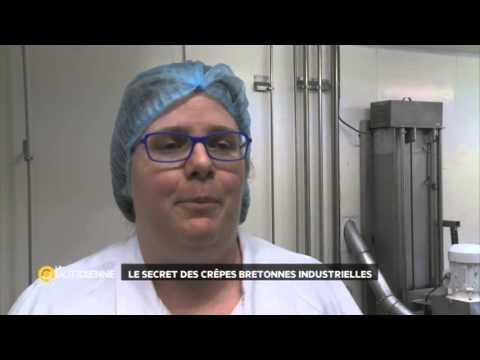 Le secret des crêpes bretonnes industrielles