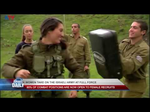 Women Take On the Israeli Army at Full Force