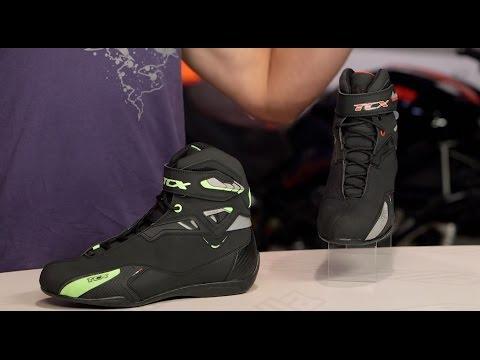 TCX Rush WP Boots Review at RevZilla.com