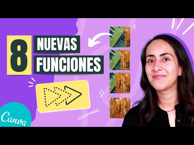 NUEVO EN CANVA | 8 funciones súper útiles que acaban de salir!