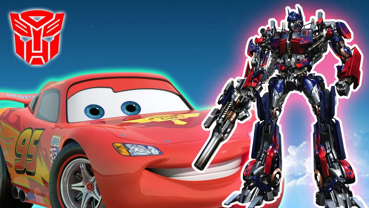 Sports Car | Racing Cars | Transformers Robot Car Videos For Children | Cars  For Kids