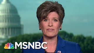 GOP Senator Joni Ernst Disappointed By President Donald Trump Remarks | Morning Joe | MSNBC