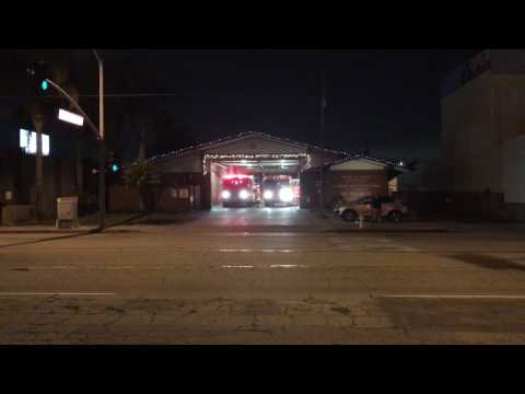 Los Angeles County Station 127 Response