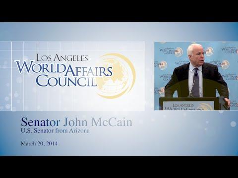 Sen. John McCain: US is the indispensable nation