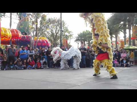 Northern Shaolin Kung Fu Assoc. DCA Disneyland CA