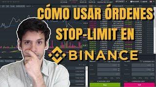 Stop limit binance parte 1