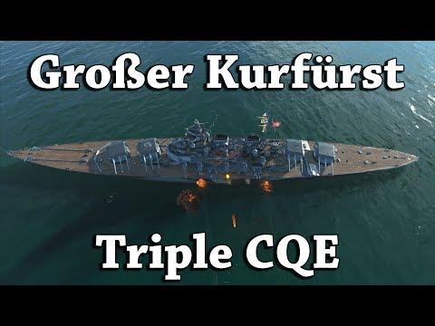 World of Warships: Großer Kurfürst - Triple CQE