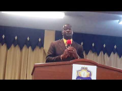 Rev Boyd Robinson @ Kingdom Dominion International, TCI with Pastors Wilbert & Christine Jennings