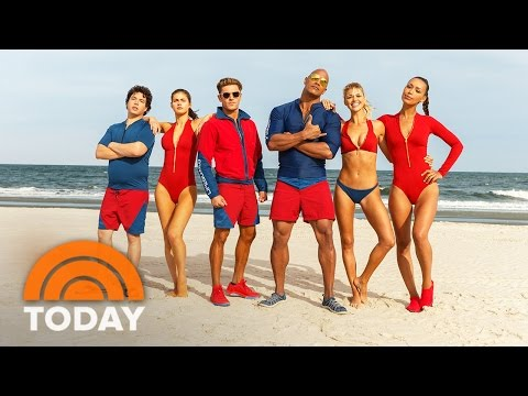 'Baywatch' Exclusive Official Trailer (2016) - Dwayne Johnson, Zac Efron | TODAY