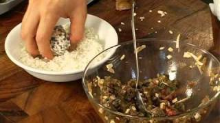 כדורי בשר ואורז מאודים