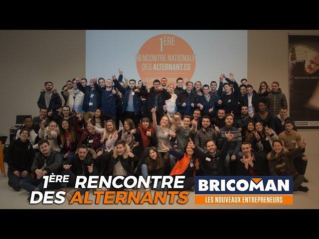 Première rencontre des alternants Bricoman !