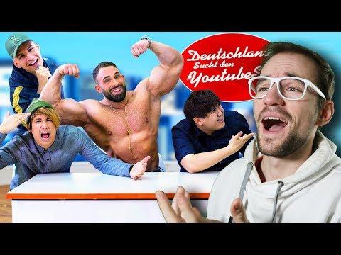 DEUTSCHLAND sucht den YOUTUBE STAR | Julien Bam | REACTION