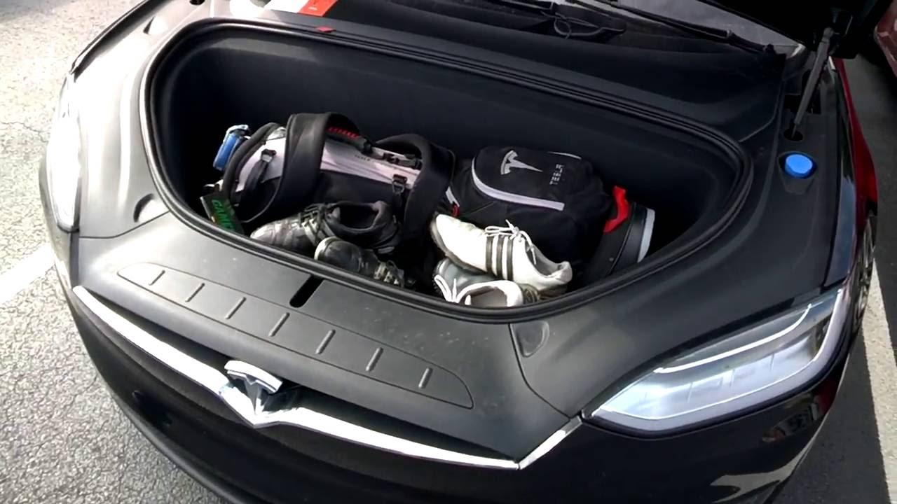 Tesla Model X Golf Club Storage / Road Trip   YouTube