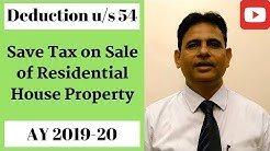 Capital Gains Tax on Sale of Property | Save Tax on Sale of Residential House [2019] | Taxpundit