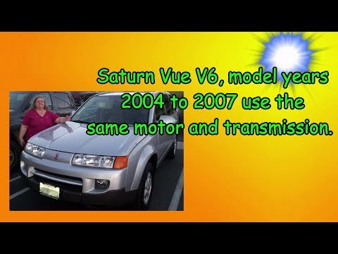 Saturn Vue-Air Conditioner Compressor Replacement-How To