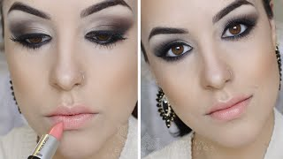 Smokey Eyes Marrom: Usando Quarteto Dailus