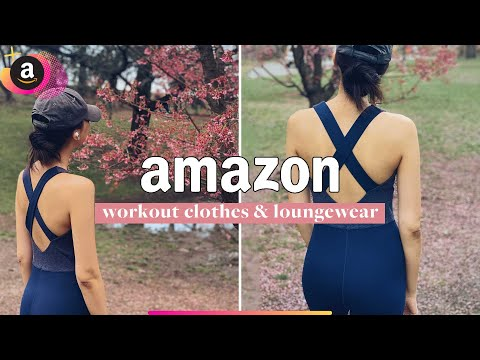 THE BEST AMAZON WORKOUT CLOTHES (cheap activewear that feels high quality!) | amazon activewear haul
