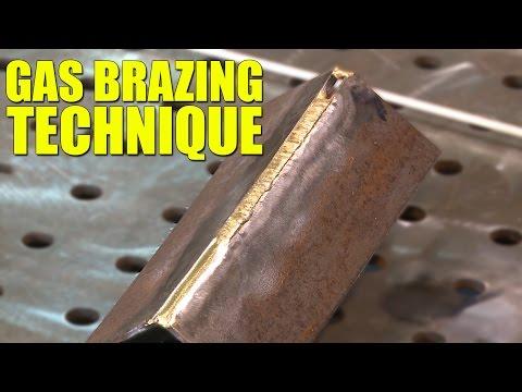 🔥 Gas Brazing Technique