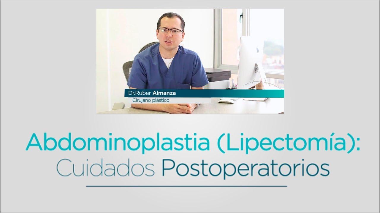 Cuidados postoperatorios de abdominoplastia