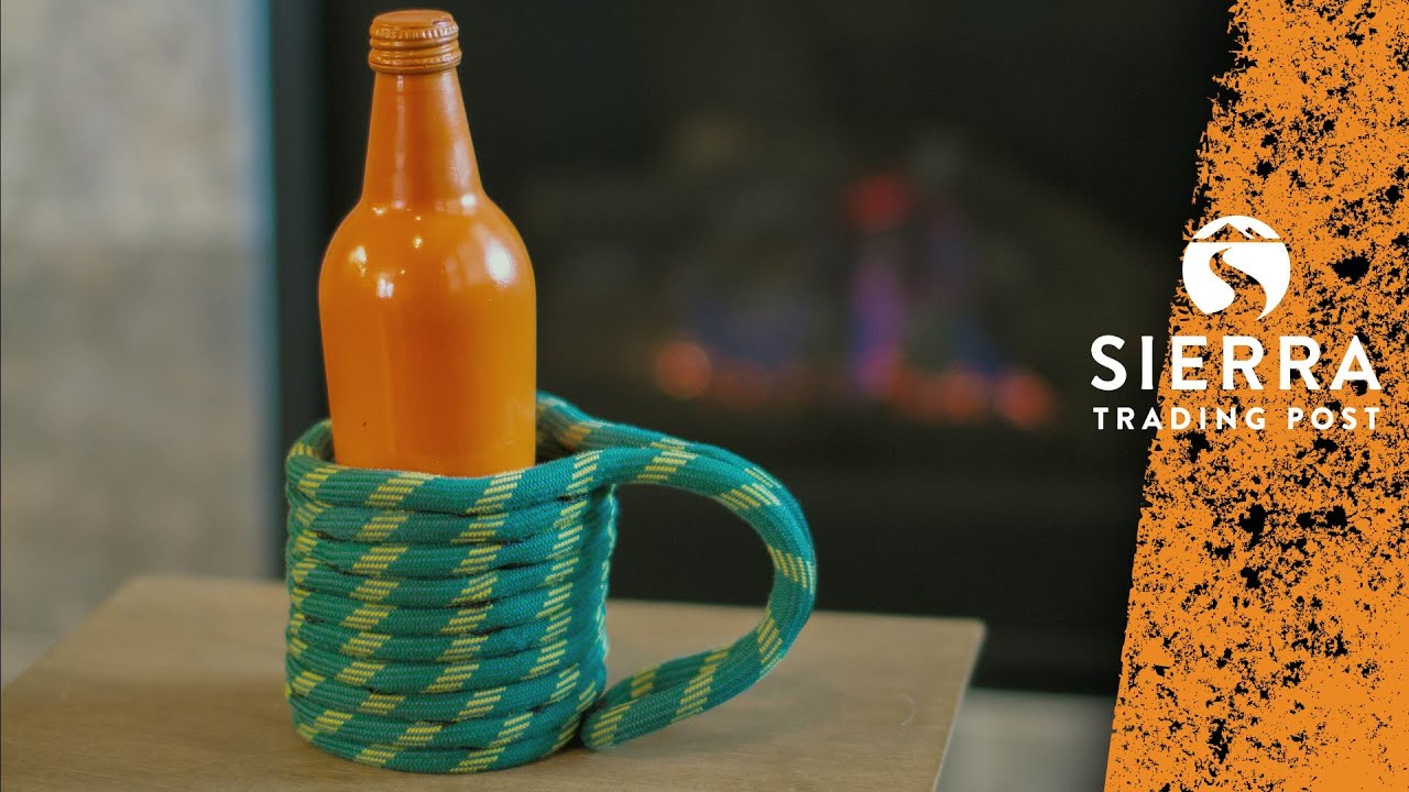 Can Cooler   DIY Climbing Rope Project