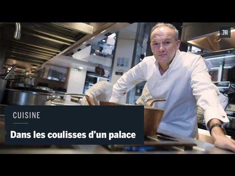 Revivez La Visite Des Cuisines D'un Grand Palace Parisien