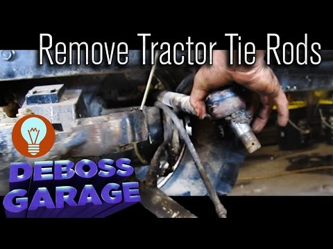 How To Remove Case IH Tractor Tie Rods