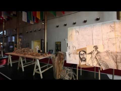 Raw to Real: Carving Theater: Installation by Handspring Puppet Company (South Africa)