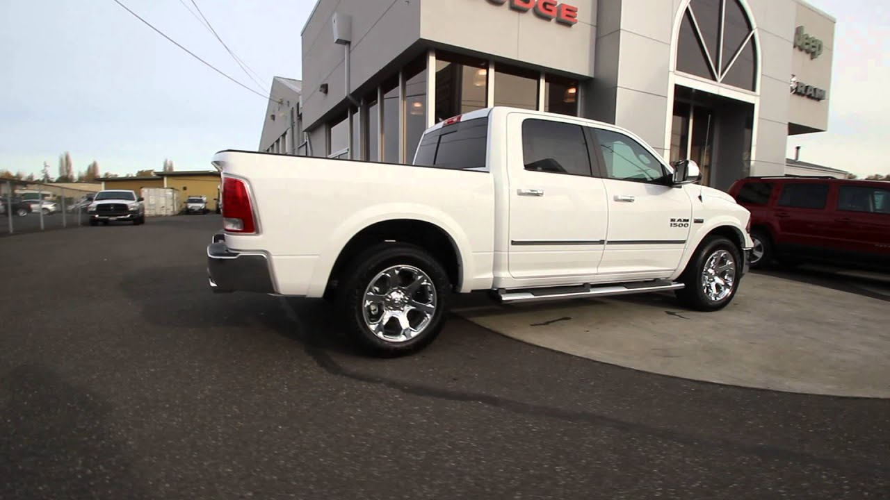 2016 dodge ram 1500 laramie bright white clearcoat gs153379 mt vernon skagit youtube. Black Bedroom Furniture Sets. Home Design Ideas