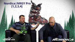2016 Nordica NRGY Pro 1, 2, 3, and 4 Mens Boot Overview by SkisDotCom