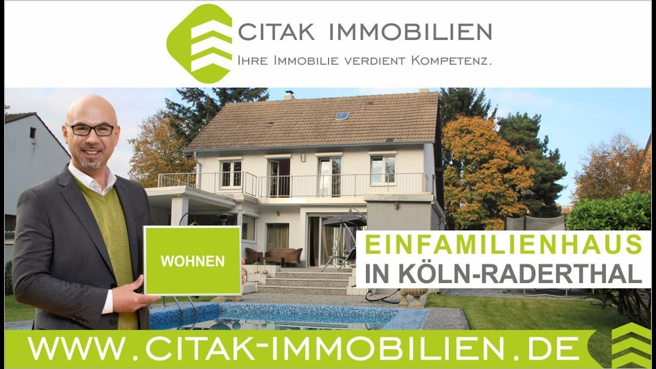 Immobilien k ln freistehendes haus mit pool in k ln for Immobilien haus