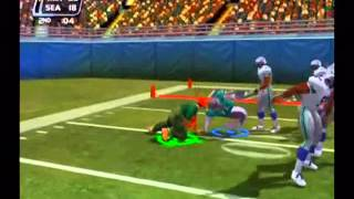 NFL Blitz 2002 - Storm of Dolphin and Deer man