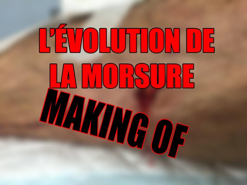 Évolution de la morsure – ÂMES SENSIBLES S'ABSTENIR – Making of