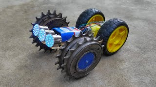 How to make Modified free wheel truck at home in low price