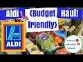 Aldi Haul || Healthy & Budget Friendly + MEAL PLAN🍍