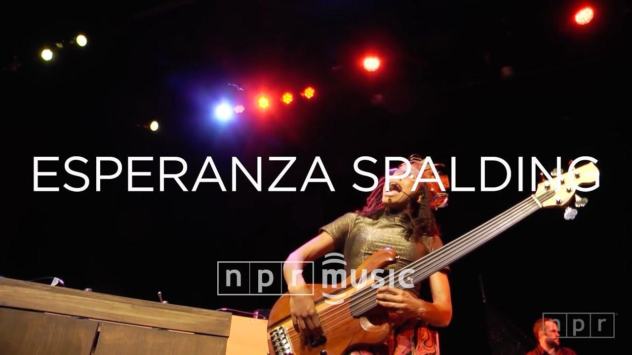 Esperanza Spalding: Live at BRIC | NPR MUSIC FRONT ROW