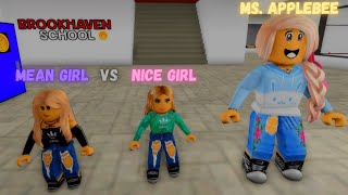 MEET THE MEAN GIRL PART 1 (ROBLOX BROOKHAVEN RP)
