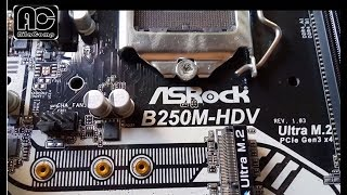 motherboard Asrock B250M HDV review