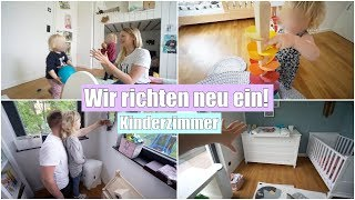 Möbel umräumen & neu einrichten 🏗 | Babyzimmer muss weichen! | Isabeau